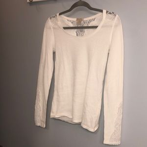 Lucky Brand Lace Long Sleeve